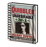 Harry Potter - Quibbler (Quaderno Spirale A5)