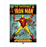 Iron Man - Birth Of Power (Poster 80X60 Cm)