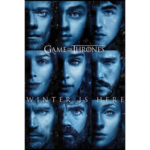 Poster Il trono di Spade (Game of Thrones) Winter Is Here