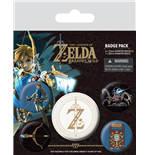 The Legend Of Zelda: Breath Of The Wild (Z Emblem) (Badge Pack)
