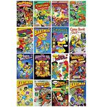 Simpsons (The) - Comic Covers (Poster Maxi 61x91,5 Cm)