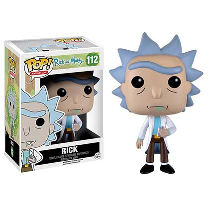 Pupazzo Rick and Morty Funko Pop