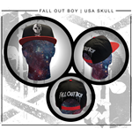 Fall Out Boy - Usa Skull (Cappellino)