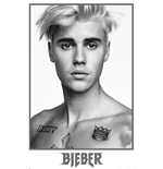 Justin Bieber - Bieber Black And White (Poster Maxi 61X91,5 Cm)