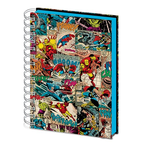 Marvel (Comic Panels) Lenticular (Quaderno A5)