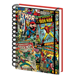 Marvel A5 Notebook (Lenticular) (Quaderno)