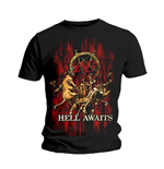 Slayer - Hell Awaits (T-SHIRT Unisex )
