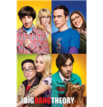 The Big Bang Theory - Blocks (Poster Maxi 61X91,5 Cm)