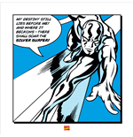 Silver Surfer - My Destiny (Poster 40X40 Cm)