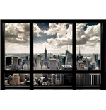 New York Window (Poster Maxi 61X91,5 Cm)