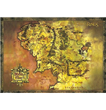 Lord Of The Rings - Classic Map (Poster Giant 100x140 Cm)