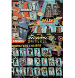 Doctor Who - Characters (Poster Maxi 61x91,5 Cm)