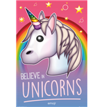 Emoji - Believe In Unicorns (Poster Maxi 61x91,5 Cm)