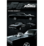 Fast And Furious 8 - Dodge Charger (Poster Maxi 61X91,5 Cm)