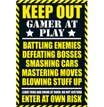 Gaming - Keep Out - Clean (Poster Maxi 61x91,5 Cm)