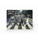 The Beatles Abbey Road (Stampa Su Legno 59X40Cm)