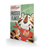 Vintage Kelloggs - Frosted Flakes (Stampa Su Legno 59X40Cm)