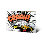 Donald Duck - Crash (Stampa Su Legno 59X40Cm)