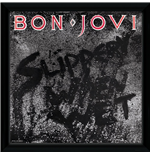 Bon Jovi - Slippery When Wet (Stampa In Cornice 30x30 Cm)