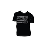 Dillinger Escape Plan - Silver Ink Flag Multicolor (T-SHIRT Unisex )