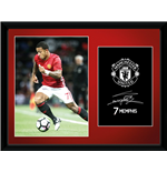 Manchester United - Mamphis 16/17 (Stampa In Cornice 30x40 Cm)