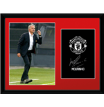 Manchester United - Mourinho 16/17 (Stampa In Cornice 30x40 Cm)