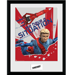 Thunderbirds Are Go - Thunderbird 3 (Stampa In Cornice 30x40cm)
