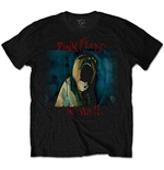 T-shirt Pink Floyd da uomo - Design: The Wall Scream