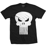 T-shirt Marvel Superheroes da uomo - Design: Punisher Skull