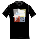 T-shirt John Lennon da uomo - Design: Imagine with Piano