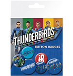 Thunderbirds Are Go - International Rescue (Badge Pack)