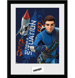 Thunderbirds Are Go - Thunderbird 1 (Stampa In Cornice 30x40cm)