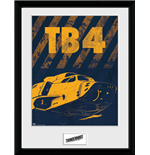 Thunderbirds Are Go - Hazard Tb4 (Stampa In Cornice 30x40cm)
