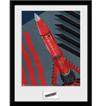 Thunderbirds Are Go - Hazard Tb3 (Stampa In Cornice 30x40cm)