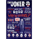 The Dark Knight - Joker Quotographic (Poster Maxi 61X91,5 Cm)