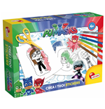 Super Pigiamini - Pj Masks - Crea I Tuoi Stickers