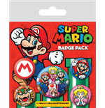 Super Mario Bros. (Pin Badge Pack)