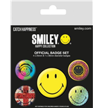 Smiley - Classic (Pin Badge Pack)