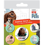 Secret Life Of Pets (The) - Alpha (Badge Pack)