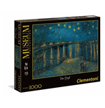 Puzzle 1000 Pz - Museum Collection - Musee D'Orsay - Van Gogh - Notte Stellata Sul Rodano