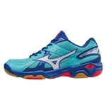 Wave Twister 4 Scarpa Volley Bassa Donna CELESTE/BLU