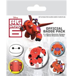 Big Hero 6 - Baymax (Pin Badge Pack)