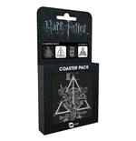 Harry Potter - Deathly Hallows (Set 4 Sottobicchieri)