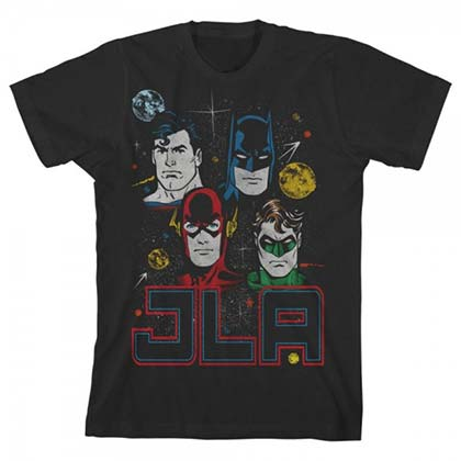 T-shirt Justice League da ragazzi