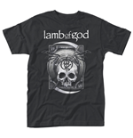 T-shirt Lamb of God Sickle Skull