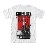 T-shirt Green Day RADIO COMBUSTION