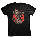 T-shirt Foo Fighters - Snake