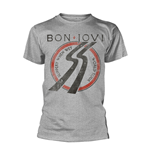 T-shirt Bon Jovi Slippery When Wet Tour