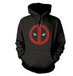 Felpa Deadpool Cracked Logo