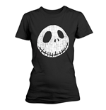 T-shirt The Nightmare Before Christmas CRACKED FACE